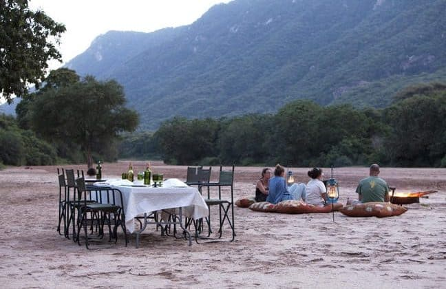 Wayo Manyara Green Camp Outdoor Meals