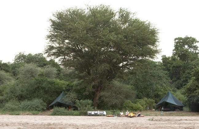 Wayo Manyara Green Camp Tent View