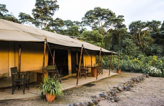 Bukima Tented Camp Tent View
