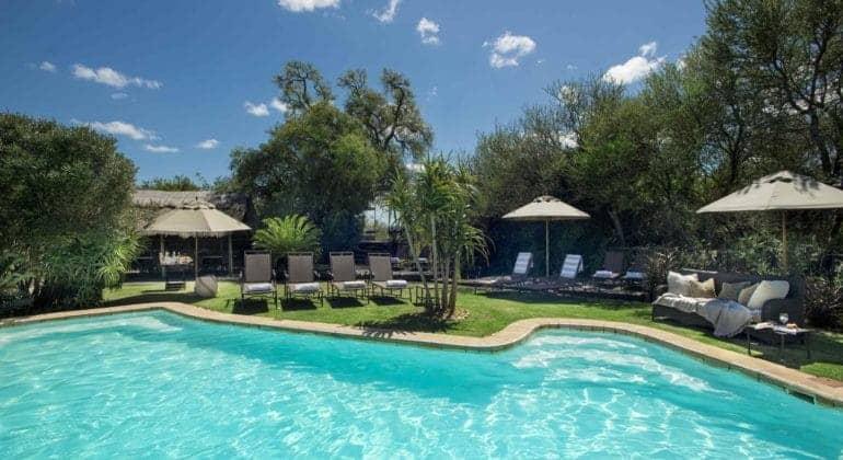 Gorah Elephant Camp Pool