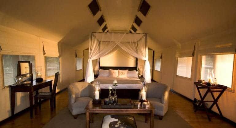 Gorah Elephant Camp Tented Suite