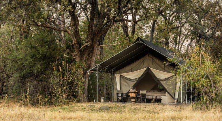 Machaba Camp Tent Exterior