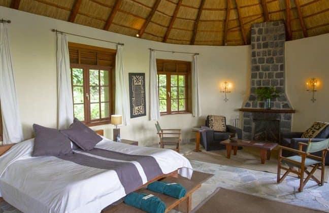 Mikeno Lodge Room