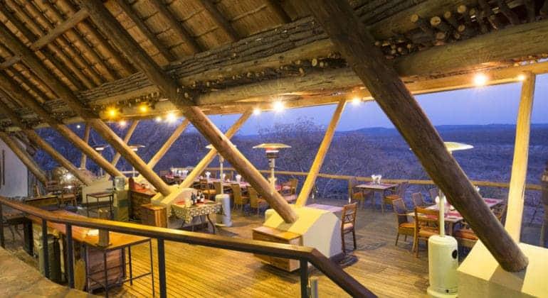 Ongava Lodge Dining
