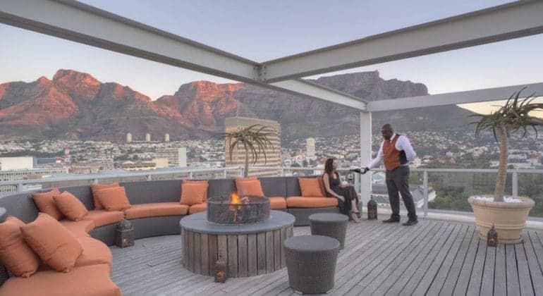 Taj Cape Town Suite Deck