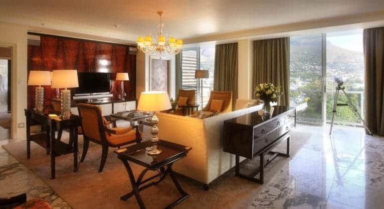 Taj Cape Town Suite Lounge