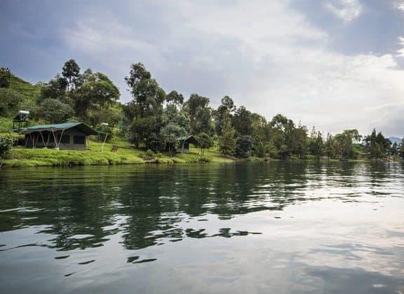 Tchegera Island Camp View