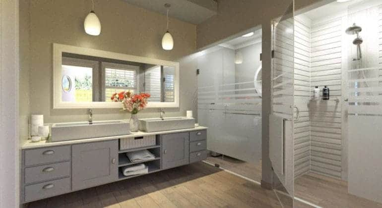Thanda Island Bathroom