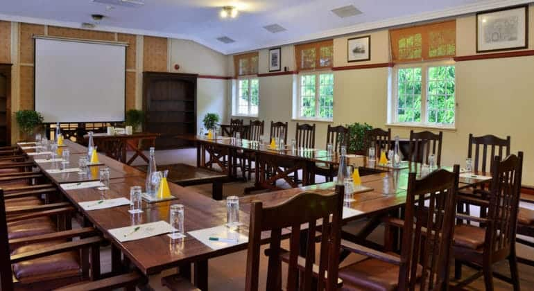 The Victoria Falls Hotel Conference Room