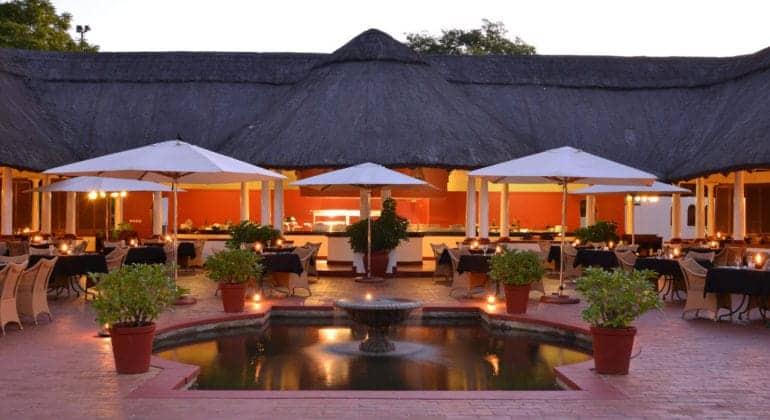 The Victoria Falls Hotel Evening