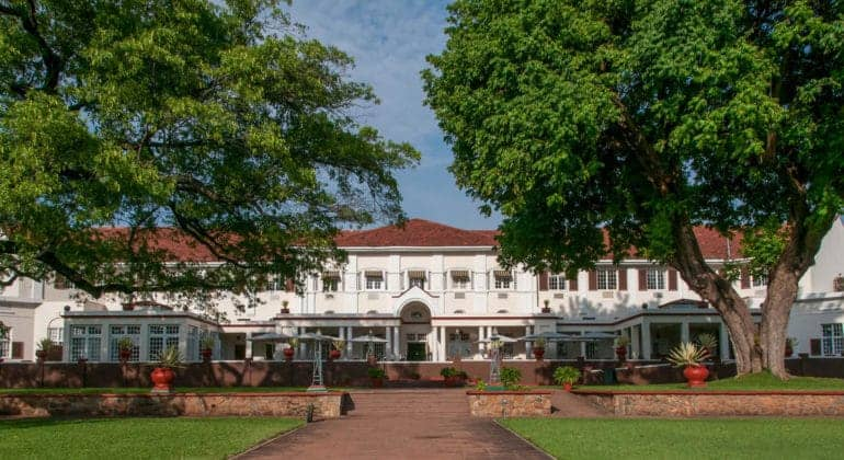 The Victoria Falls Hotel Front Face