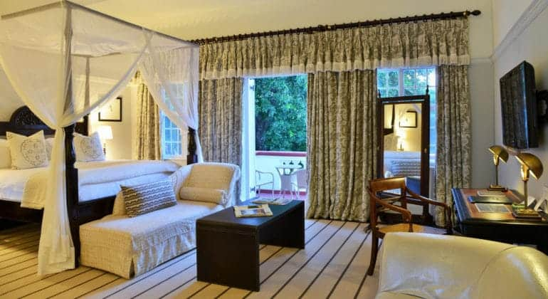 The Victoria Falls Hotel Honeymoon Suite