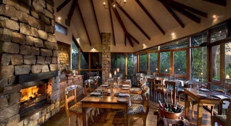 Tsala Treetop Lodge Dining
