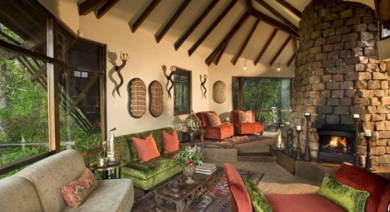 Tsala Treetop Lodge Lounge