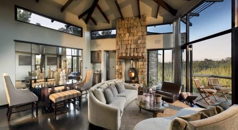 Tsala Treetop Lodge Villa Lounge