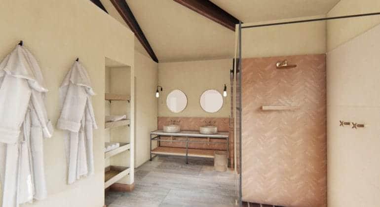 Lemala Mpingo Ridge Bathroom