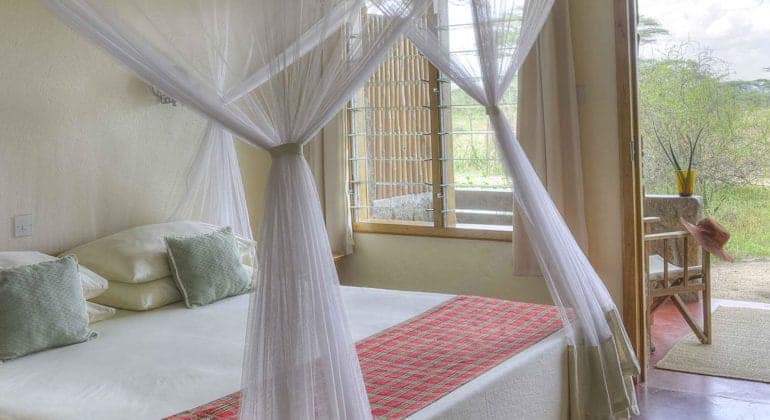Ndutu Safari Lodge Bedroom 1
