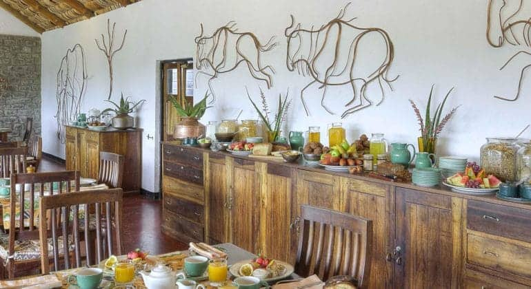 Ndutu Safari Lodge Dining