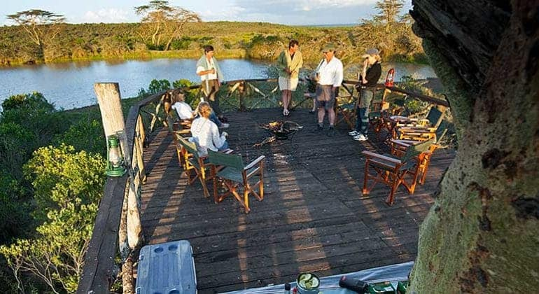 Sosian Lodge Deck