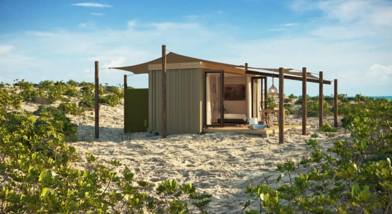 Blue Safari Seychelles Eco Pod