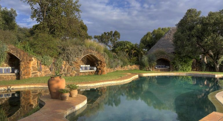 Laragai House Swimming Pool