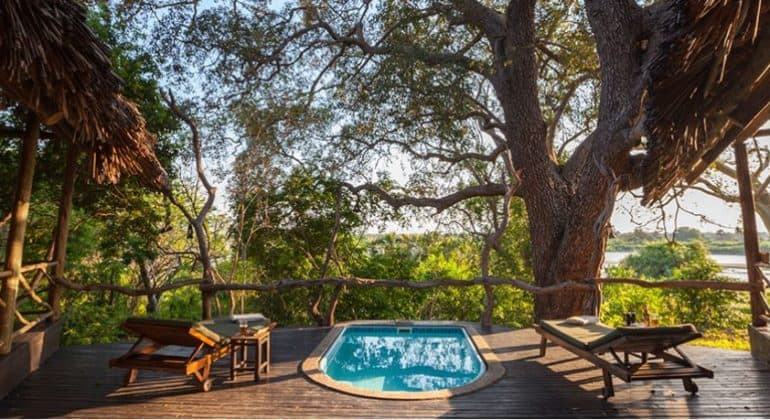 Rufiji River Camp Family Pool