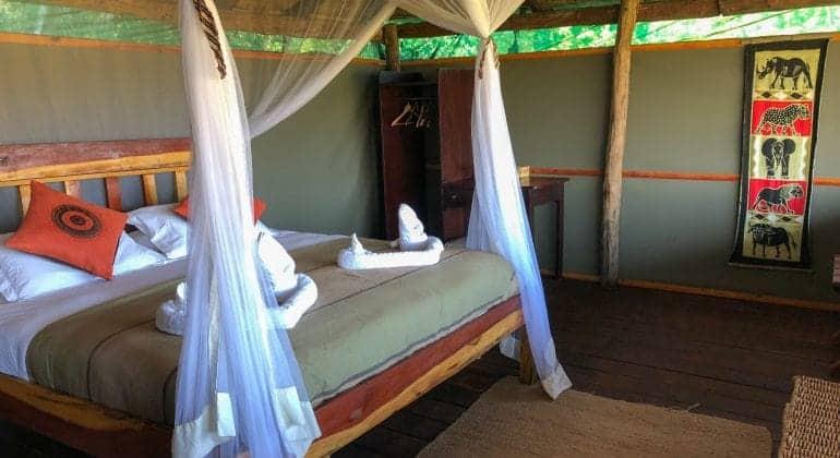 Musekese Camp Bedroom