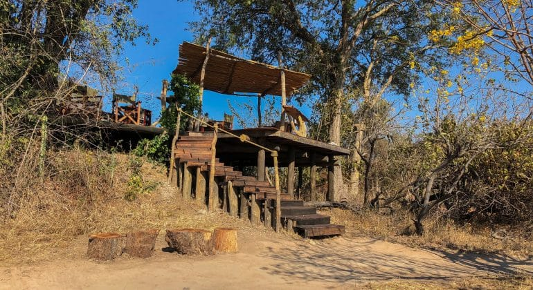 Ntemwa Busanga Camp Deck