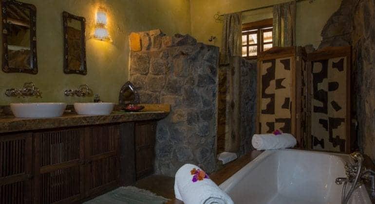 The River House Bathroom