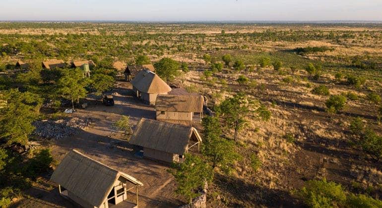 Deka Camp Aerial View