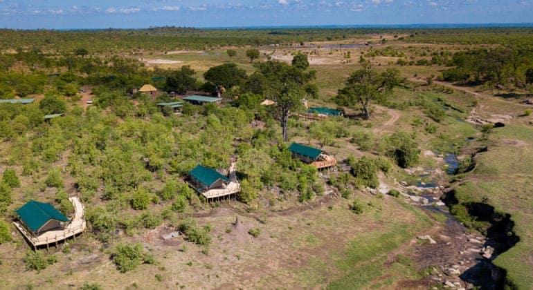 Deteema Springs Aerial View