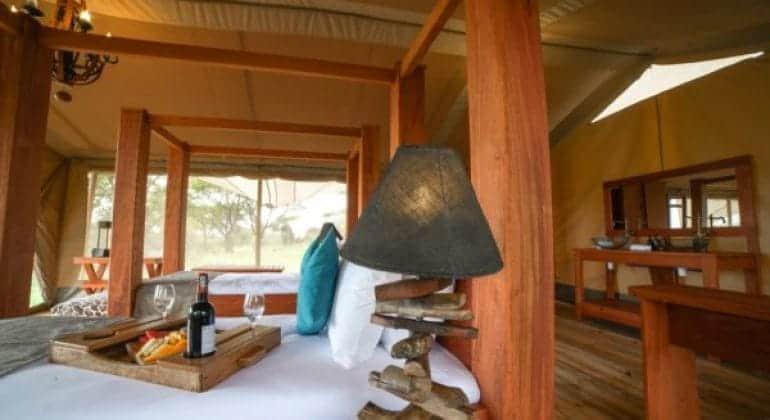 Asanja Grumeti Camp Bedroom