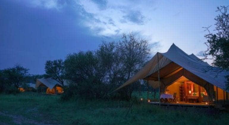 Asanja Grumeti Camp Tents