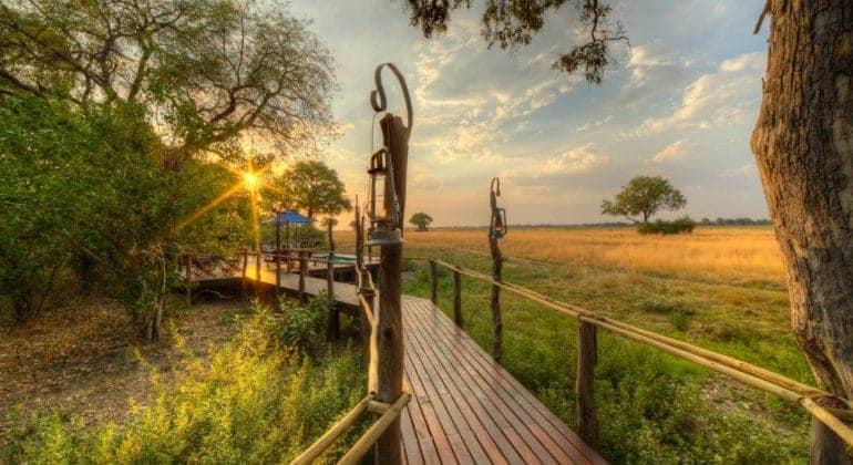 Kadizora Camp Walkway