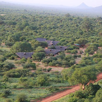 Ithumba Camp Aerial View
