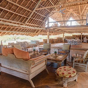 Ithumba Camp Lounge Area