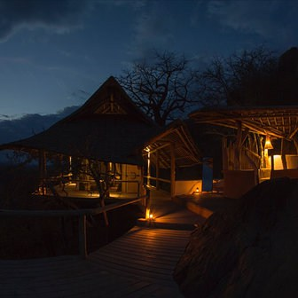 Ithumba Hill Camp At Night