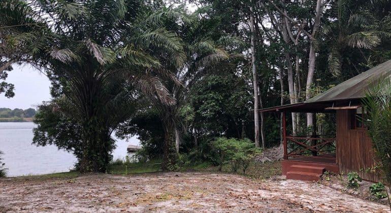 Loango Lodge Tent View