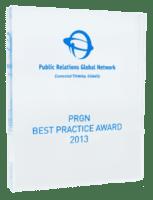2013: PRGN – Best Practice Award