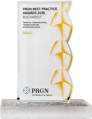 2018: PRGN – Best Practice Award