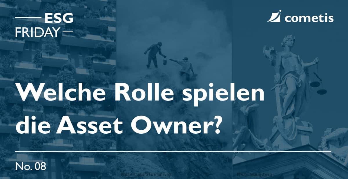 ESG: Die Rolle der Asset Owner und Asset Manager