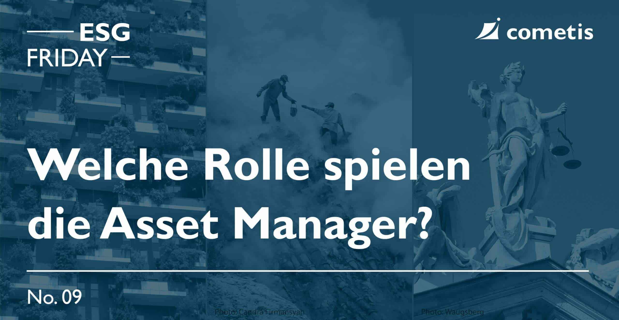 ESG Banner - Rolle des Asset Mananger