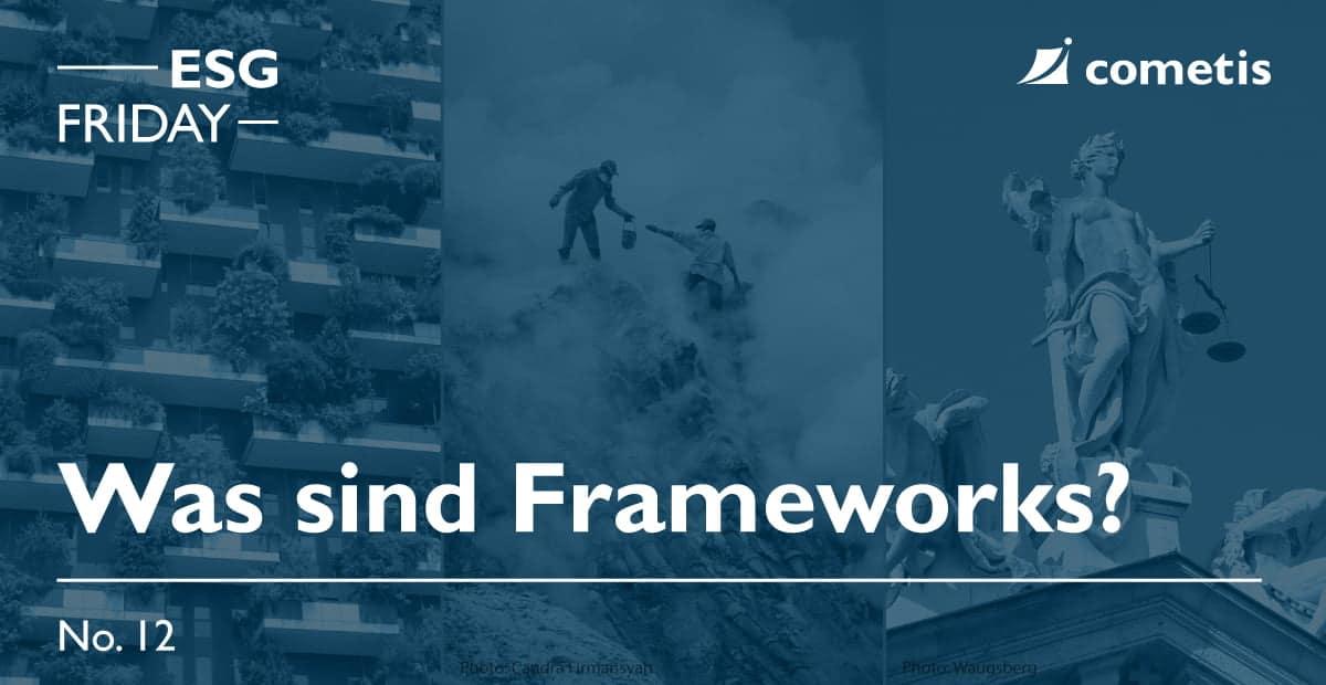 ESG Banner-Was sind Frameworks?