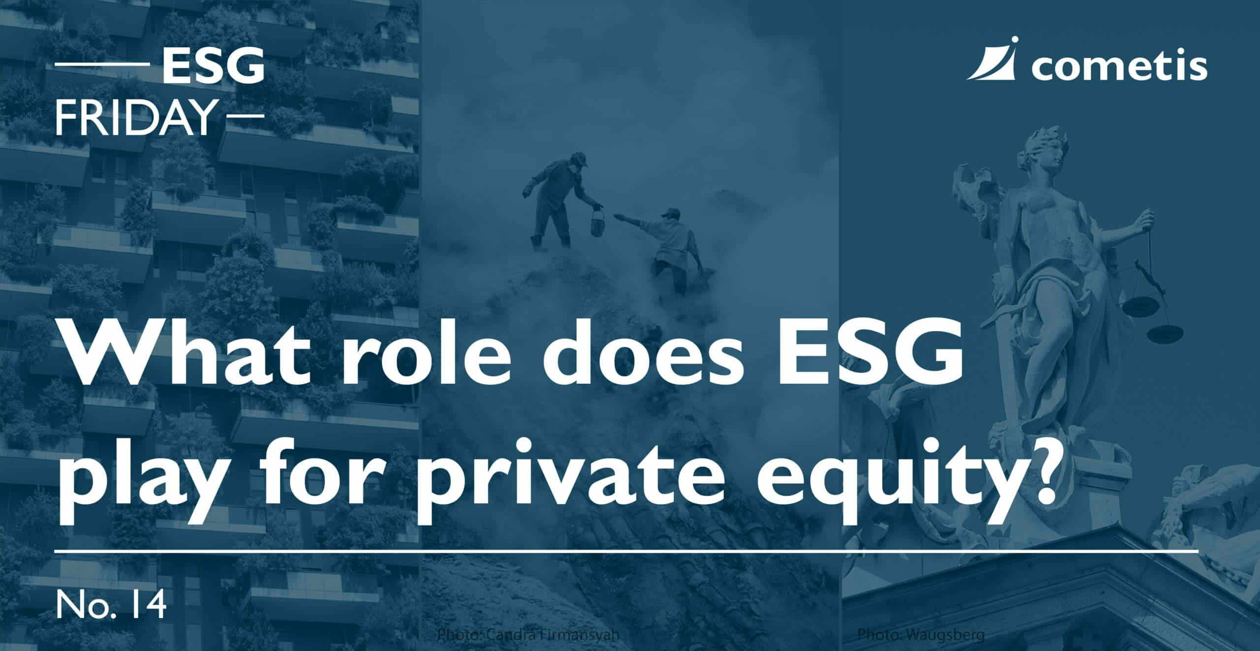 ESG Banner-The role of ESG for private equity