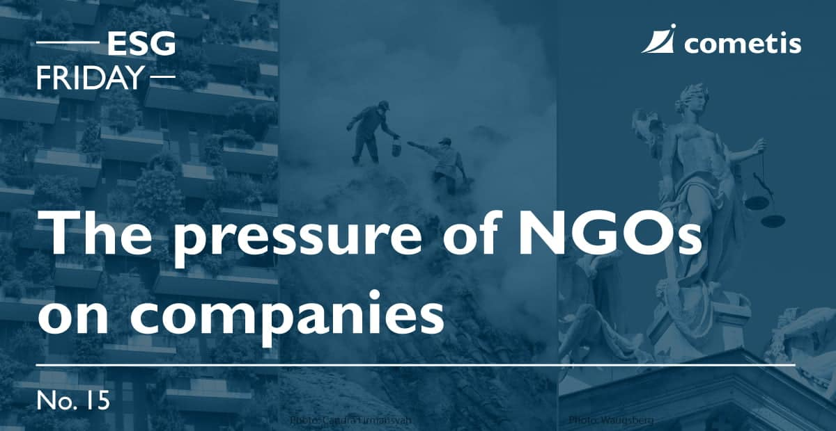 ESG Banner-The pressure of NGOs on companies