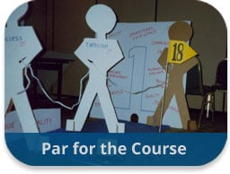 team building activities construction challenges par for the course