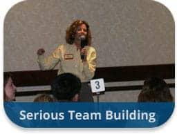 team building activities serious team building