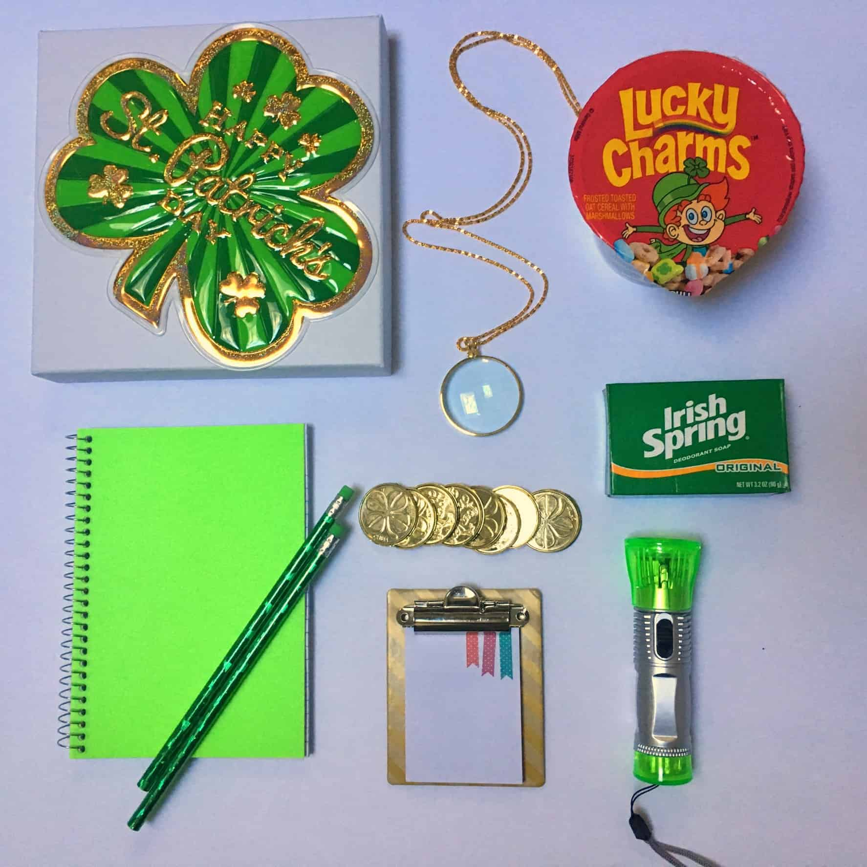 supplies needed to catch a leprechaun for st. patricks day