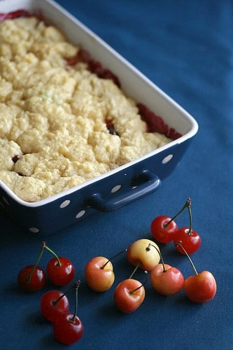 Life's a Bowl of… – Double Cherry Almond Crumble