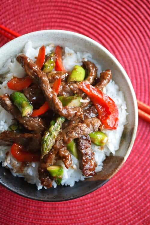 Chinese Fakeout: Beef and Asparagus Stir Fry